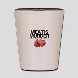 Meat Is Murder, Delicious Tender Murder! Shot Glas