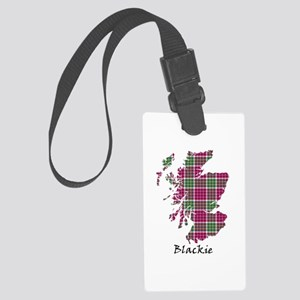 Map - Blackie Large Luggage Tag