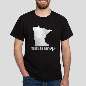 Minnesota - This Is Home Dark T-Shirt