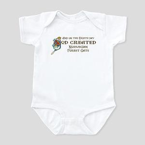 God Created Wegies Infant Bodysuit