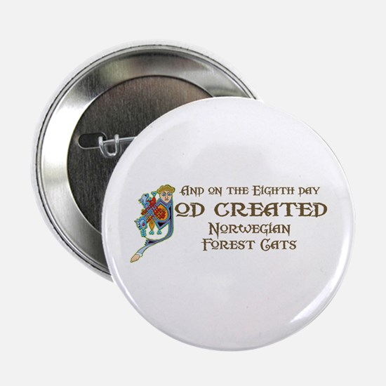 "God Created Wegies 2.25"" Button"