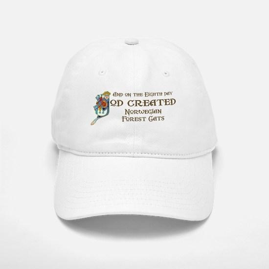 God Created Wegies Baseball Baseball Cap