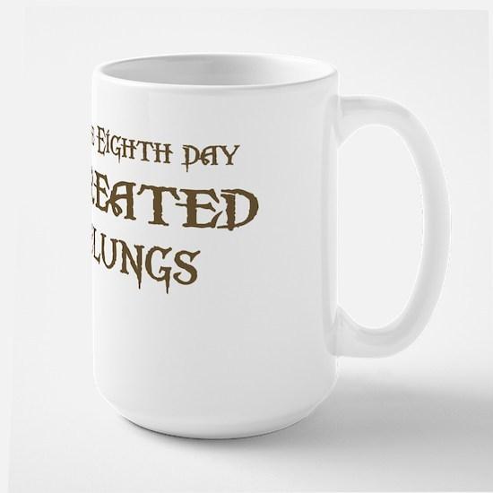 God Created Nebelungs Large Mug