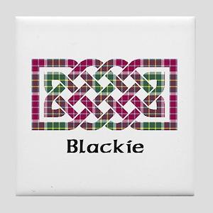 Knot - Blackie Tile Coaster