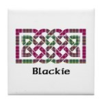 Knot - Blackie Tile Coaster
