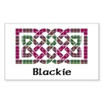 Knot - Blackie Sticker (Rectangle)