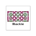 Knot - Blackie Square Sticker 3