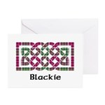 Knot - Blackie Greeting Cards (Pk of 10)