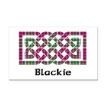 Knot - Blackie Rectangle Car Magnet
