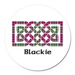 Knot - Blackie Round Car Magnet
