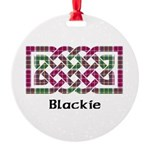 Knot - Blackie Round Ornament