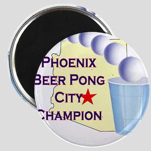 Phoenix Beer Pong City Champi Magnet