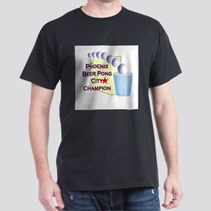 Phoenix Beer Pong City Champi Dark T-Shirt