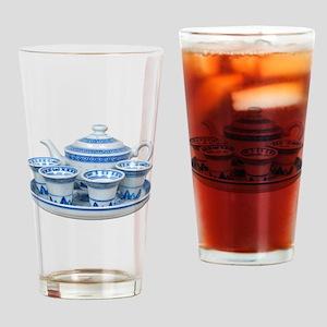 TeaTime Drinking Glass