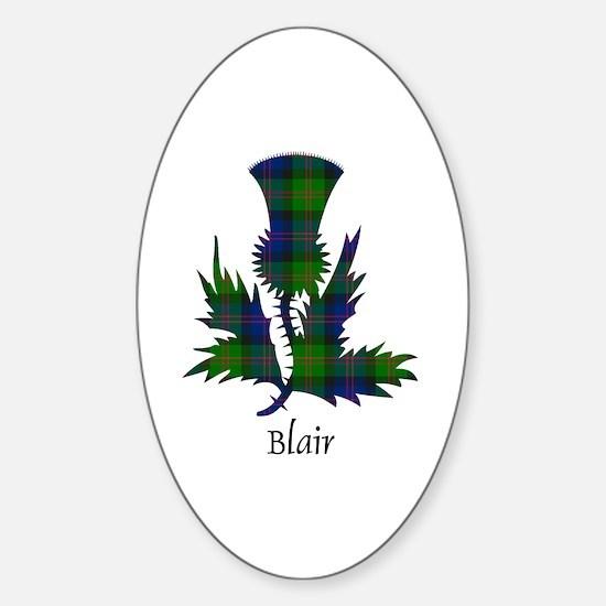 Thistle - Blair Sticker (Oval)