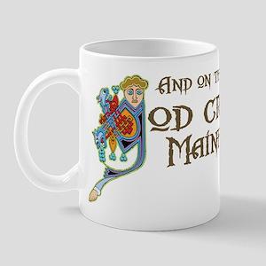 God Created Maine Coons Mug