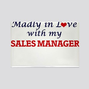 Madly in love with my Sales Manager Magnets
