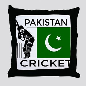 Pakistan Cricket Throw Pillow