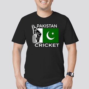 Pakistan Cricket Men's Fitted T-Shirt (dark)