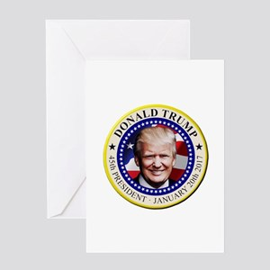 President Trump Greeting Cards