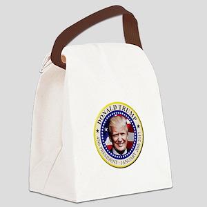 President Trump Canvas Lunch Bag