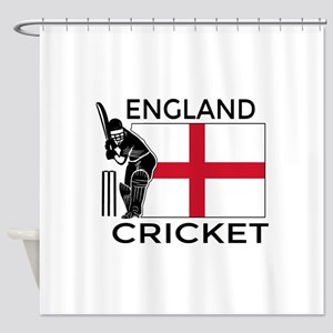 England Cricket Shower Curtain