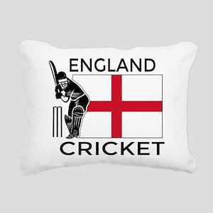 England Cricket Rectangular Canvas Pillow
