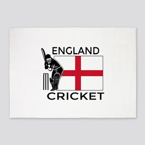 England Cricket 5'x7'Area Rug