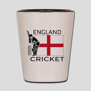 England Cricket Shot Glass