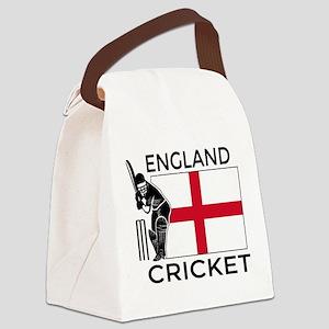England Cricket Canvas Lunch Bag