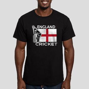 England Cricket Men's Fitted T-Shirt (dark)