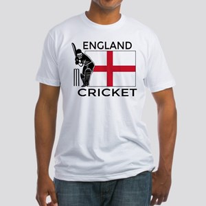 England Cricket Fitted T-Shirt