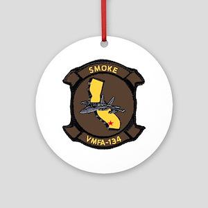 VFMA 115 Silver Eagles Ornament (Round)