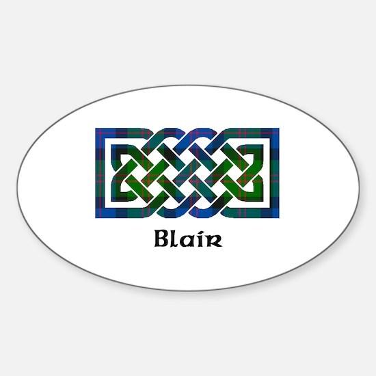 Knot - Blair Sticker (Oval)