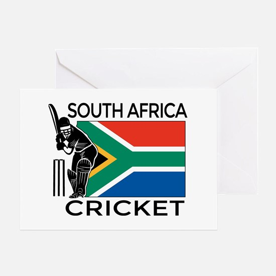 south africa cricket & Greeting Card