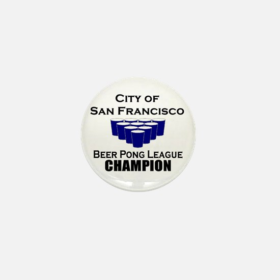 City of San Francisco Beer Po Mini Button