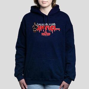 Rocky Horror Anticipatio Women's Hooded Sweatshirt