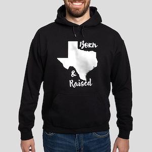 Texas - Born & Raised Hoodie (dark)