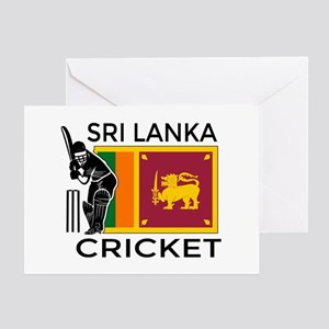 Sri lanka greeting cards cafepress sri lanka cricket greeting card m4hsunfo