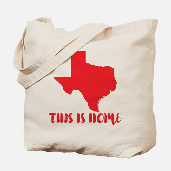 Texas - This Is Home Tote Bag