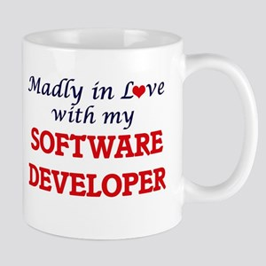 Madly in love with my Software Developer Mugs
