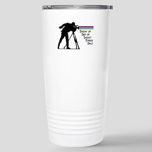 Videographer - Stainless Steel Travel Mug