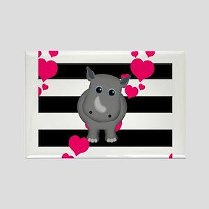 Rhino Baby Magnets