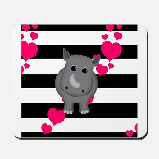 Rhino Baby Mousepad