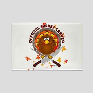 """Official Turkey Crver""Rectangle Magnet"