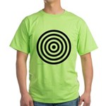 275.bullseye.. Green T-Shirt
