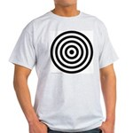 275.bullseye.. Ash Grey T-Shirt