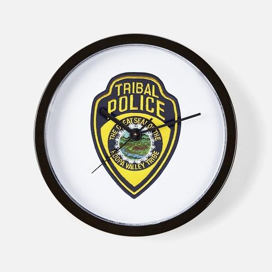 Hoopa Valley Tribal Police Wall Clock