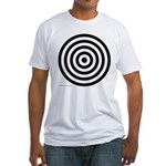 275.bullseye.. Fitted T-Shirt