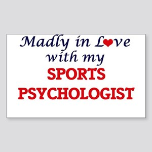 Madly in love with my Sports Psychologist Sticker